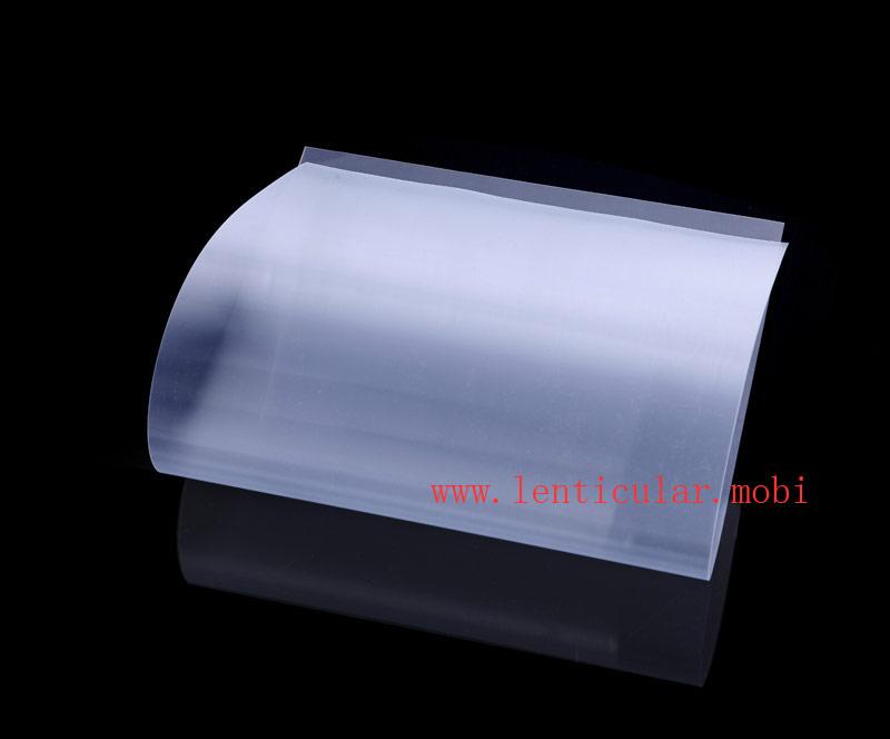 plastic 3d lenticular lens sheet